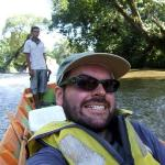 going up a river in Temburong