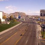 "View east from ""bridge"" between Nugget and Montego Bay Casino/Hotels"