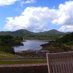 view from hotel in sneem