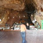  Cave-like bar