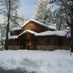 The cabin we stayed in
