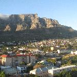 View from our room on Table Mountain