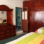 room w/1 king bed, 1 single bed & ensuite bathroom