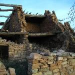 Kinishba Ruins Dwelling with Beams