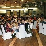 Fabulous dining enjoyed in the function suite catering to all tastes.