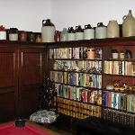  The study with Stan&#39;s jug collection.