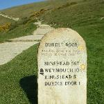  How far to Durdle Door!