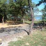 Lake Mineral Wells State Park Campground Foto