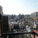 view of iriya, nippori from the balcony