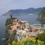 Vernazza from the trail