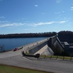 Bull Shoals Lake. One side is lake, the other side is white river.