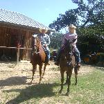 back from a ride