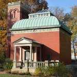 """General Lew Wallace's beloved Study, what he called the """"pleasure house for [his] soul."""""""