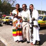 Big Brother Tadesse with my Fiance Betelhem and Sisther Rhut