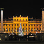 Schoenbrunn Palace Christmas Market