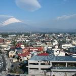 Window View of Mt Fuji