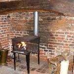 one of the log burners
