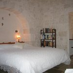 Bedroom/camera letto Trullo Casa Rosa