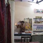  Bhai during Puja in behind Old Yogi Lodge counter