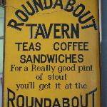 Roundabout Inn Sign