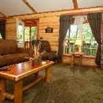 Foto van Lake Forest Luxury Log Cabins