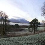 Ben Nevis from the garden