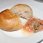 bread with tepanade