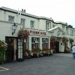  Ethorpe Hotel in Gerrads Cross, England where we always stay at (I highly recommend it!)