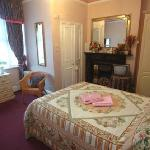 A large double room at the Dylan Guest House