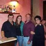  L to R Luca, my daughter, Jeff, Luca&#39;s wife