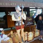 Outside the Museo de Chocolate