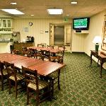 Dining Room with Continental Breakfast
