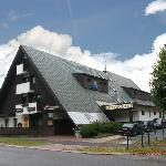  Hotel Sedy vlk Harrachov - feeder road
