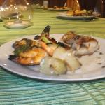  Special Seafood BBQ at Hotel Green. Prepared by Il Viaggio Travel as part of a fishing tour