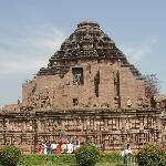 Full View of Konark sun temple