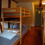 Hotel Schwanen: uncomfortable bunk beds w/thin mattresses.  Must pay extra for bed linen...