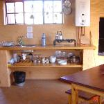 The kitchen facilities