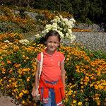  My daughter (Aditi) in the garden