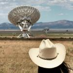 Christina at the VLA.