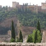 Alhambra Palace from the Albaicin