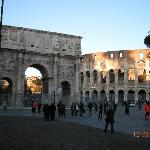  We walked to Vatican City, took a bus to Colosseum and connected with train to Ostia Antica
