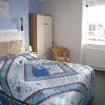 A typical en-suite double room