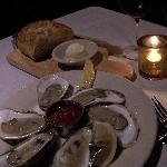 Winter Point Oysters and Bread Loaf