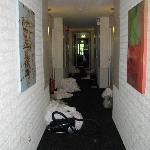  dirty linen in the hallway