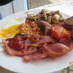 Big English breakfast