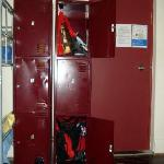  Convenient lockers