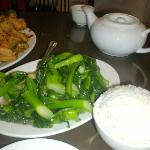 Spicy Squid, with Chinese Broccoli!