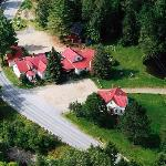  Aerial view of The Hyde Away Inn &amp; Restaurant