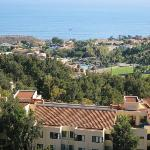 The view of the Pacific Ocean from Pepperdine.