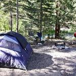  Tent campsites